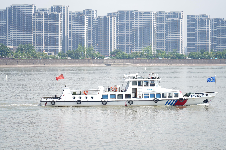 视频 | 杭州钱塘江二桥下游水域开展突发事件应急处置联合演习