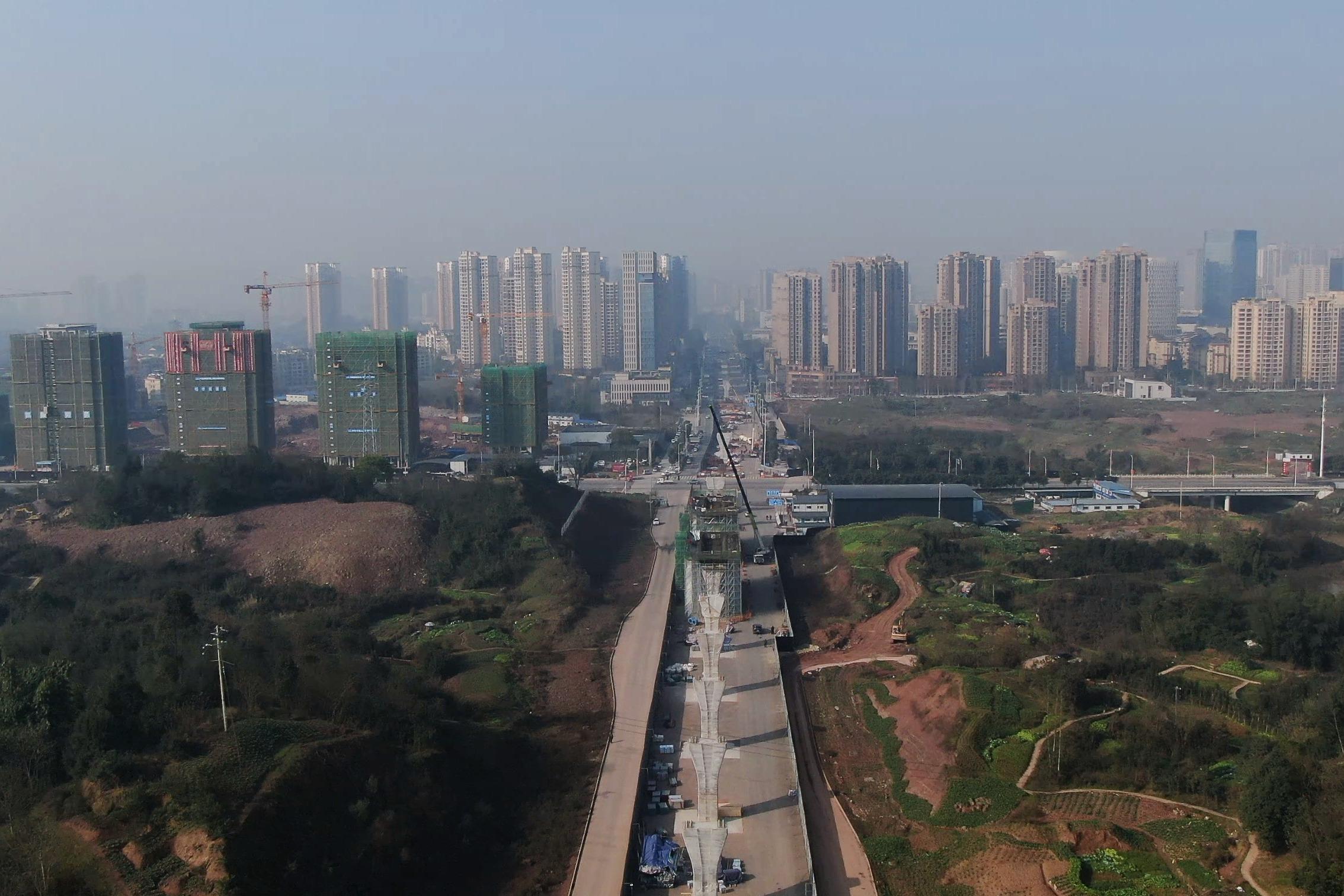 """视频丨15号线、璧铜线建设提速  重庆加快建成""""一小时通勤圈"""""""