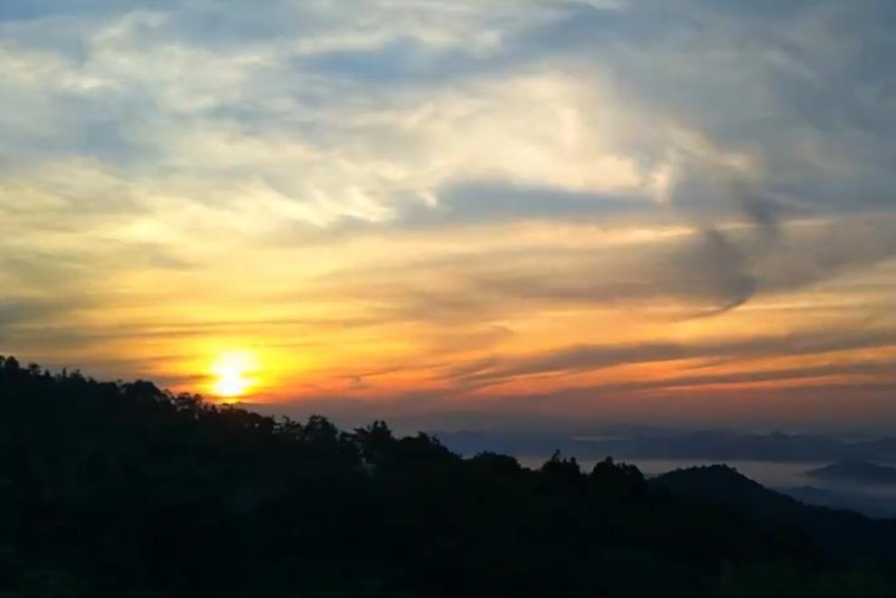 江西乐平:夏日夜空 如梦似幻